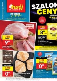 Gazetka promocyjna Twój Market - Szalone ceny w sklepach Twój Market! - ważna do 21-09-2021