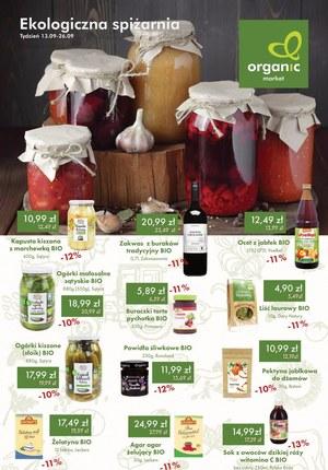 Gazetka promocyjna Organic - Ekologiczna spiżarnia Organic