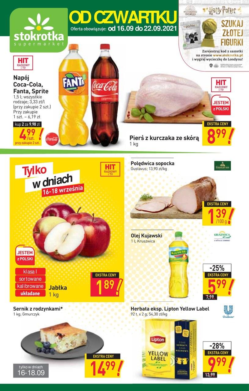 Gazetka promocyjna Stokrotka Supermarket - ważna od 16. 09. 2021 do 22. 09. 2021