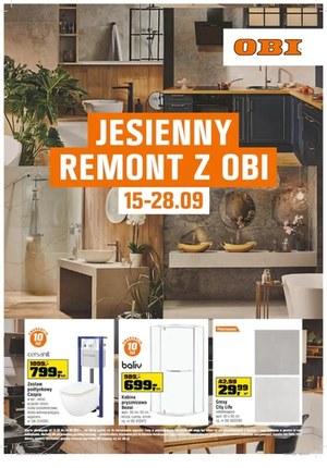 Gazetka promocyjna OBI - Jesienny remont z OBI