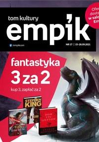 Gazetka promocyjna EMPiK - Fantastyka 3 za 2 w EMPiK - ważna do 28-09-2021