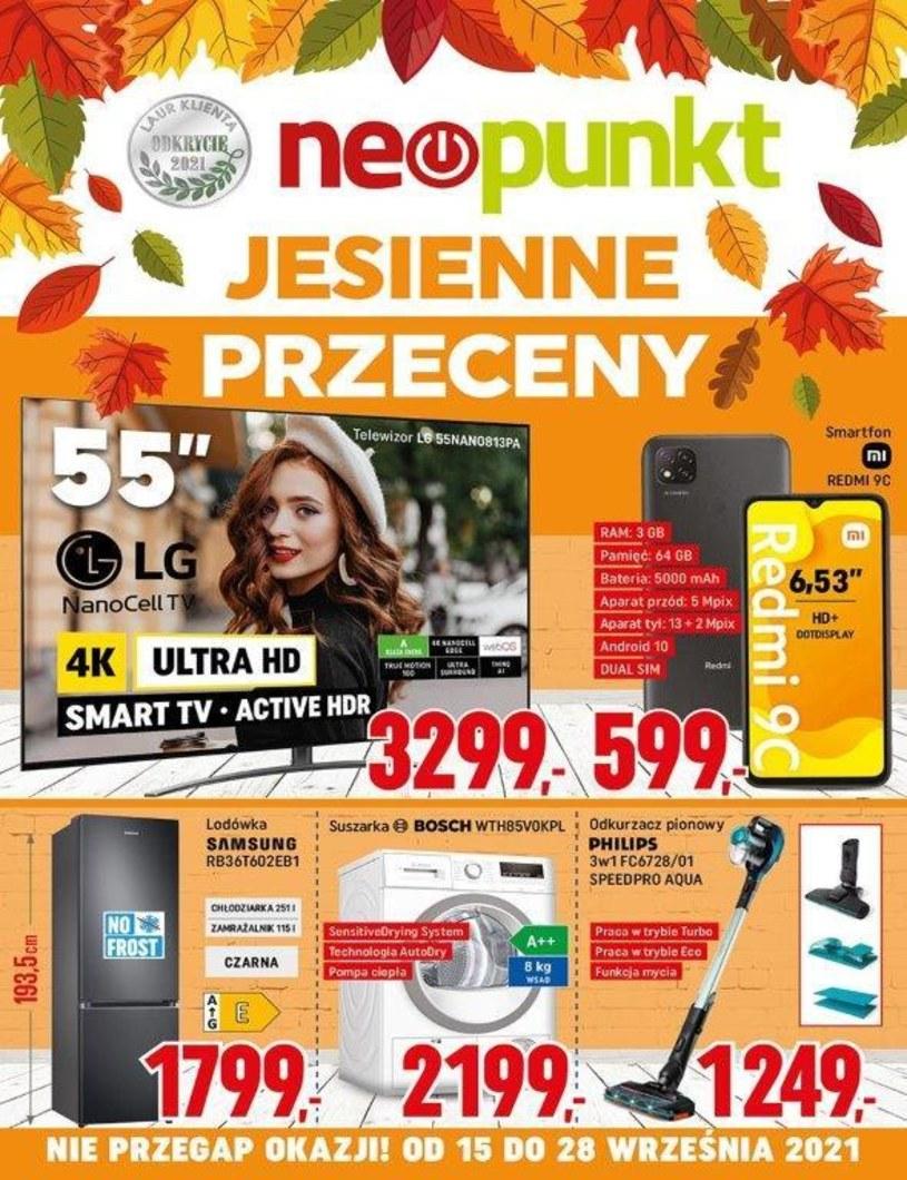 Gazetka promocyjna NEOPUNKT - ważna od 15. 09. 2021 do 28. 09. 2021