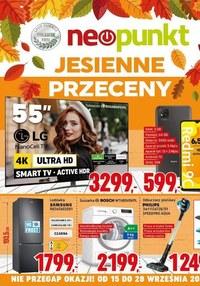 Gazetka promocyjna NEOPUNKT - Jesienne przeceny w NEOPUNKT - ważna do 28-09-2021