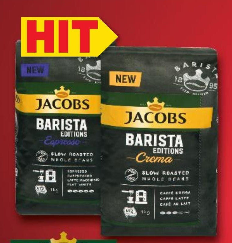 Kawa ziarnista Jacobs niska cena