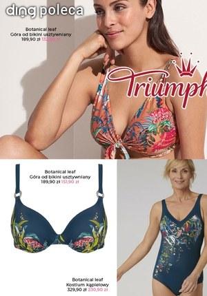 Gazetka promocyjna Triumph - Triumph - kostiumy kąpielowe w niskich cenach