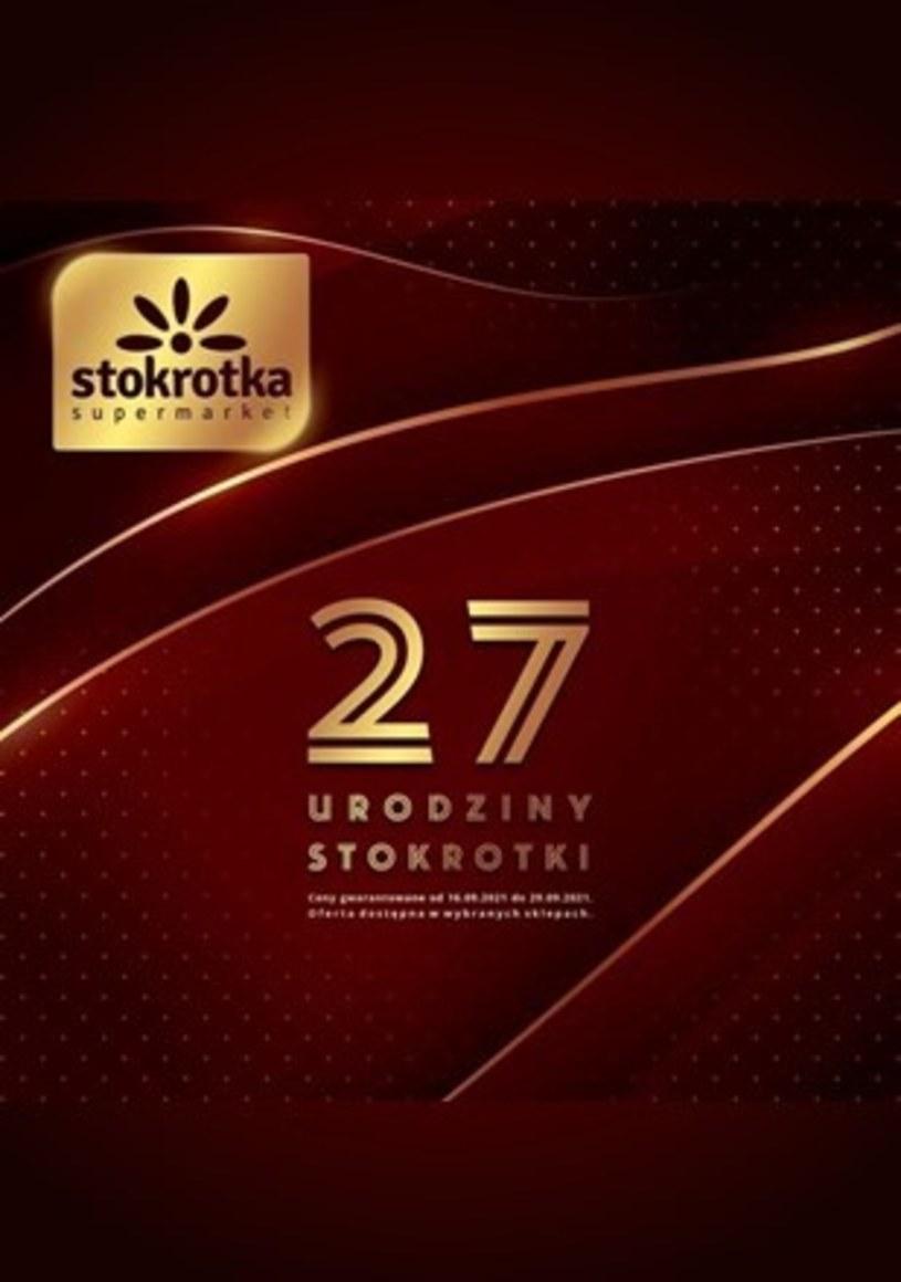 Gazetka promocyjna Stokrotka Supermarket - ważna od 16. 09. 2021 do 29. 09. 2021