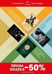 Gazetka promocyjna Księgarnie Świat Książki - Księgarnie Świat Książki - druga książka -50% - ważna do 12-10-2021