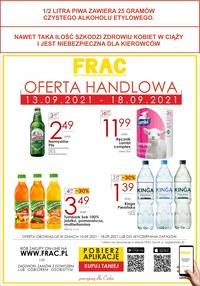 Gazetka promocyjna FRAC - Frac - nowe okazje cenowe! - ważna do 18-09-2021