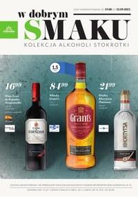 Gazetka promocyjna Stokrotka Supermarket - Oferta alkoholowa Stokrotka - ważna do 13-10-2021