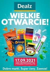 Gazetka promocyjna Dealz - Wielkie otwarcie Dealz w Olsztynie!  - ważna do 01-10-2021