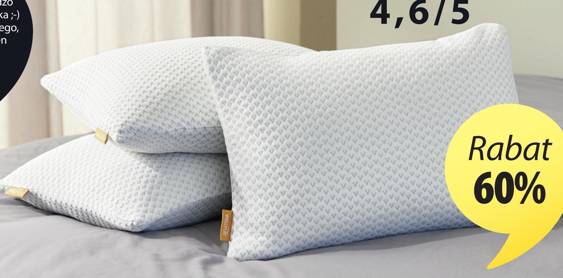 Poduszka Wellpur niska cena