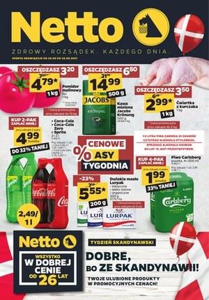 Gazetka promocyjna Netto - Tydzień skandynawski w Netto