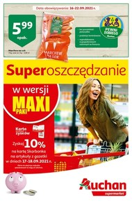 Maxi promocje w Auchan Supermarket