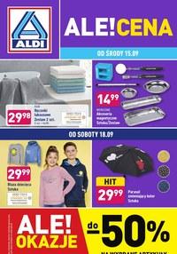 Gazetka promocyjna Aldi - Hitowe okazje w Aldi