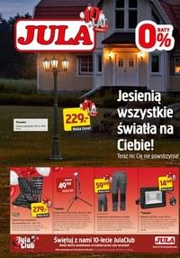 Gazetka promocyjna Jula - Wszystkie światła na ciebie w Jula - ważna do 10-10-2021