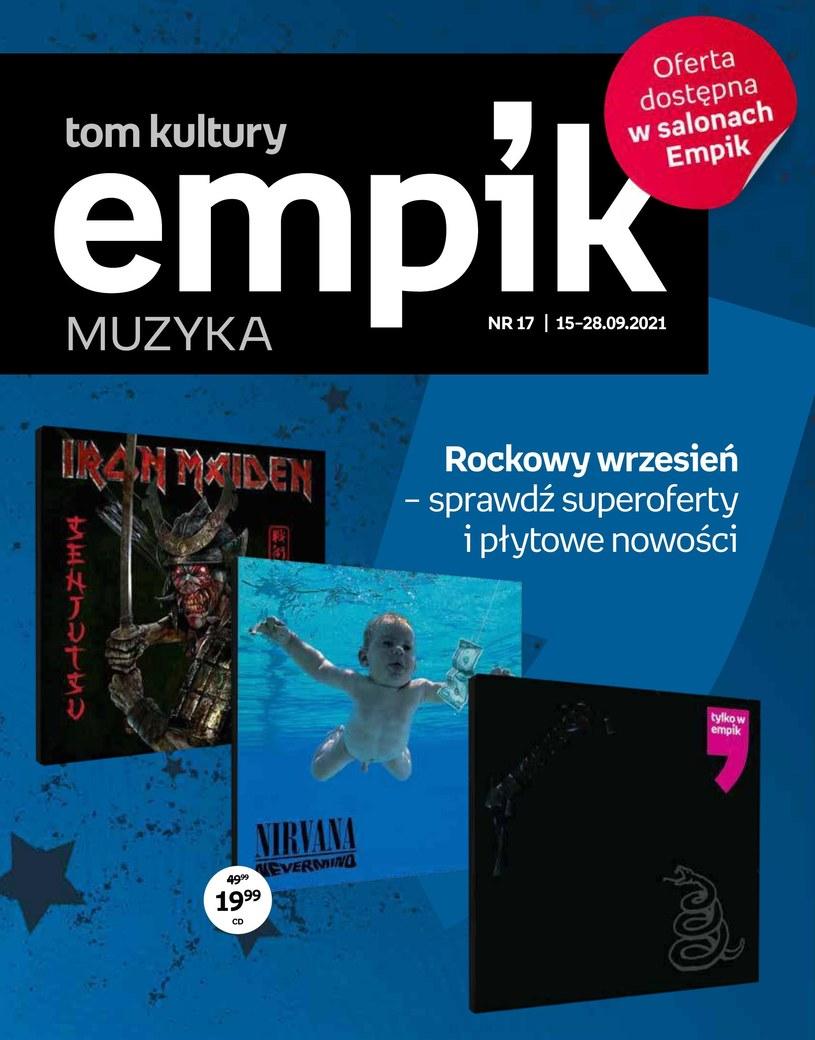 Gazetka promocyjna EMPiK - ważna od 15. 09. 2021 do 28. 09. 2021