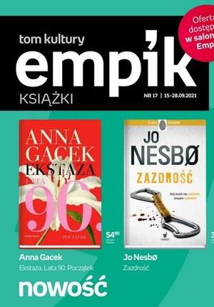 Gazetka promocyjna EMPiK - Nowości książkowe w Empik