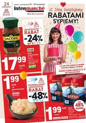 Gazetka promocyjna Intermarche Super - Intermarche świętuje rabatami!
