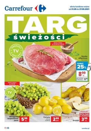 Gazetka promocyjna Carrefour - Targ świeżości Carrefour