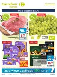 Codzienne zakupy w Carrefour Express