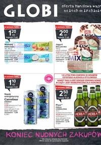 Gazetka promocyjna Globi - Twoje zakupy w Globi - ważna do 27-09-2021