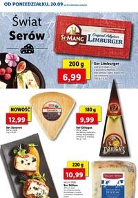 Gazetka promocyjna Lidl - Świat serów w Lidlu