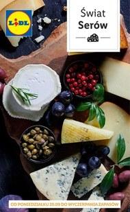 Świat serów w Lidlu