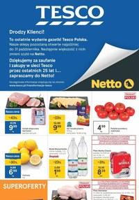 Gazetka promocyjna Tesco Centra Handlowe - Ostatnia gazetka Tesco!