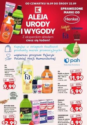 Gazetka promocyjna Kaufland - Kaufland - aleja urody i wygody