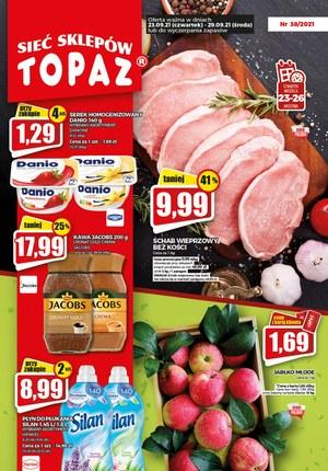 Gazetka promocyjna Topaz - Topaz - sprawdź nowe okazje cenowe!