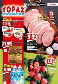 Gazetka promocyjna Topaz - Promocje w Topaz Express! - ważna do 29-09-2021