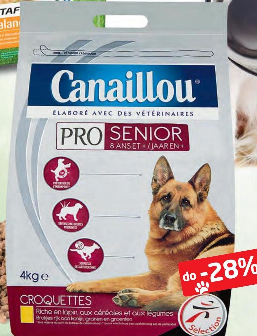 Karma dla psa Canaillou niska cena