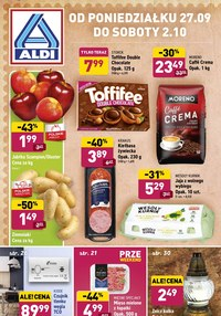 Gazetka promocyjna Aldi - Aldi - tydzień kultowych produktów - ważna do 02-10-2021