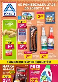 Gazetka promocyjna Aldi - Przeweekend w Aldi - ważna do 02-10-2021
