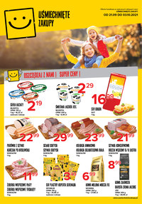 Gazetka promocyjna Uśmiechnięte zakupy - Uśmiechnięte Zakupy na każdy dzień - ważna do 03-10-2021