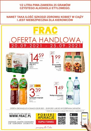 Gazetka promocyjna FRAC - Frac - nowa oferta handlowa!