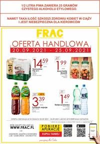 Gazetka promocyjna FRAC - Frac - nowa oferta handlowa! - ważna do 25-09-2021