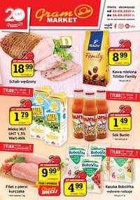 Gazetka promocyjna Gram Market - Najnowsza oferta Gram Market  - ważna do 28-09-2021