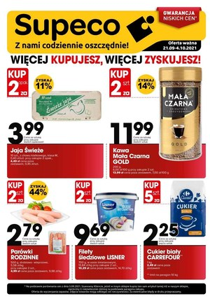 Gazetka promocyjna Supeco - Supeco - gwarancja niskich cen!