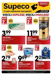 Gazetka promocyjna Supeco - Supeco - gwarancja niskich cen! - ważna do 04-10-2021