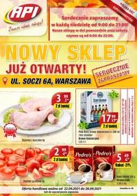 Gazetka promocyjna Api Market - Nowe otwarcie Api Market - ważna do 28-09-2021