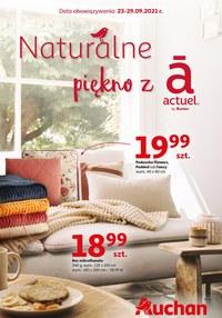 Gazetka promocyjna Auchan Hipermarket - Naturalne piękno w Auchan