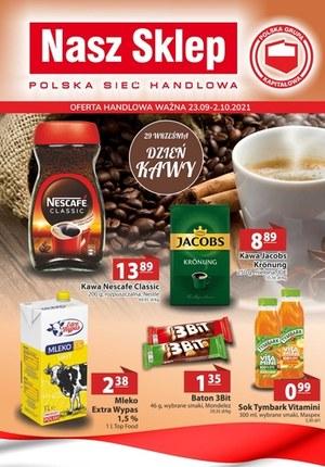 Gazetka promocyjna Nasz Sklep - Dzień kawy w Nasz Sklep