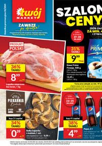 Gazetka promocyjna Twój Market - Szalone ceny - Twój Market   - ważna do 28-09-2021