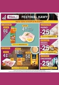Gazetka promocyjna Frisco - Festiwal kawy w Frisco  - ważna do 05-10-2021