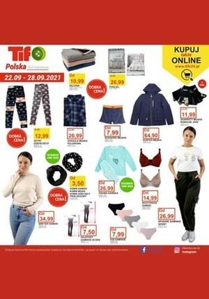 Gazetka promocyjna Tifo - Nowa oferta w Tifo