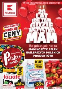 Gazetka promocyjna Kaufland - Kaufland - super marki - ważna do 29-09-2021