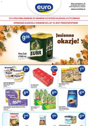 Gazetka promocyjna Euro Sklep - Jesienne okazje w Euro Sklep