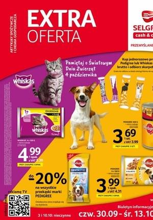 Gazetka promocyjna Selgros Cash&Carry - EXTRA oferta Selgros Cash&Carry
