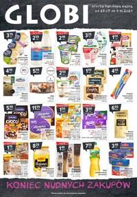 Gazetka promocyjna Globi - Globi - koniec nudnych zakupów - ważna do 04-10-2021